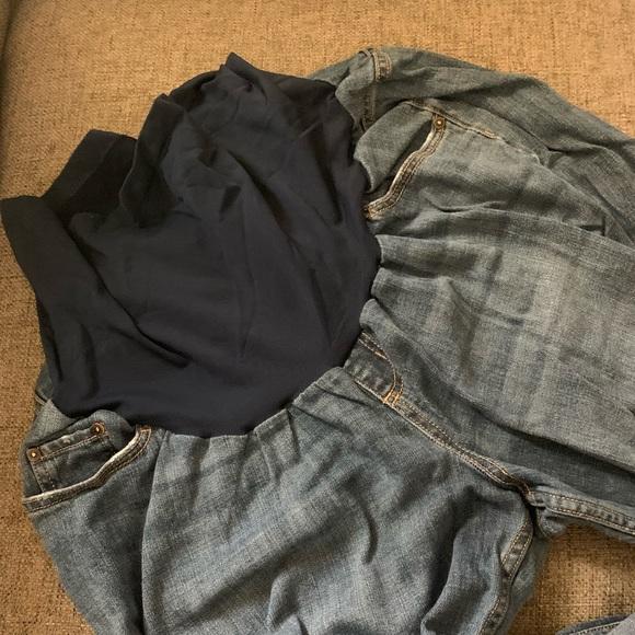 92cef05f019c4a Indigo Blue Jeans | Plus Size Secret Fit Belly Maternity Denim ...